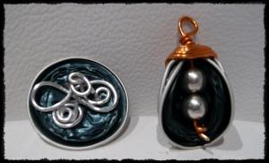 DIY: Lagrima azul y anillo