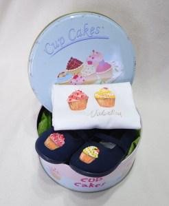Lolitaluna. Canastilla Cupcakes+zapas