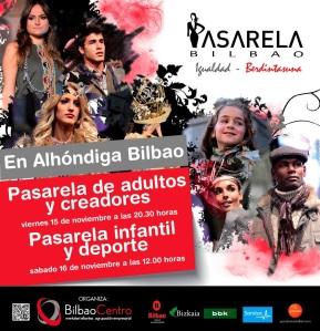 Pasarela Bilbao 15 y 16 de noviembre