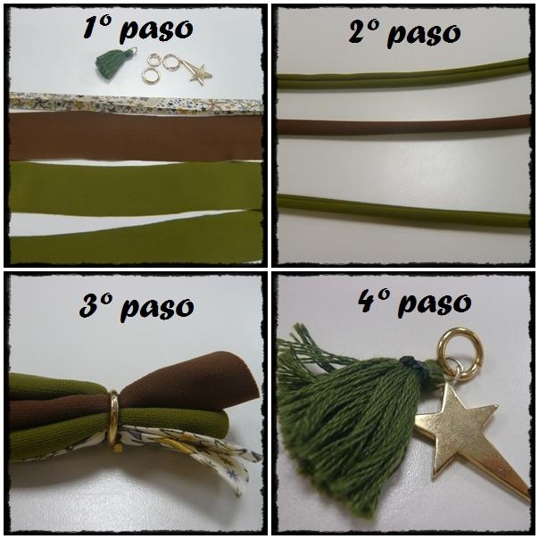 DIY Pulseras de Lycra - Paso a Paso - BilbaoPasarela