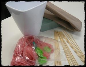 DIY Ramo de rosas - Materiales