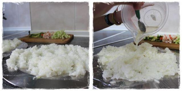 Hacer sushi en casa PASO5