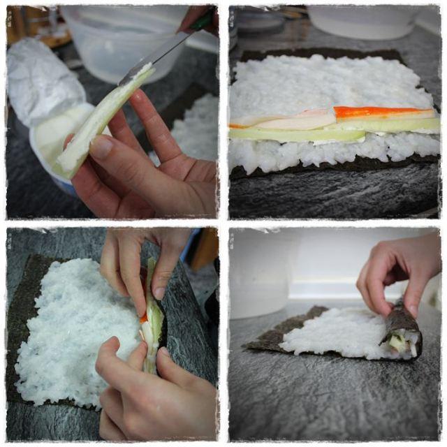 Hacer sushi en casa PASO7