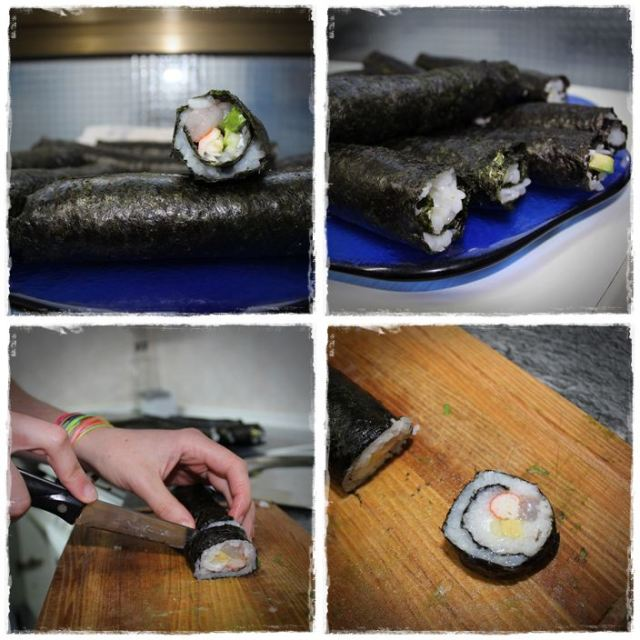 Hacer sushi en casa  PASO8