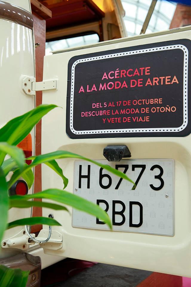 Artea Fashion truck puerta